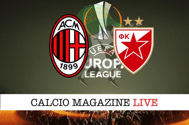 Milan Stella Rossa cronaca diretta live risultato in tempo reale