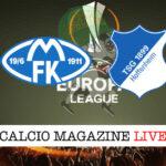 Molde Hoffenheim cronaca diretta live risultato in tempo reale