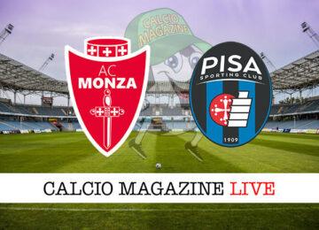 Monza Pisa cronaca diretta live risultato in tempo reale