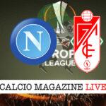Napoli Granada cronaca diretta live risultato in tempo reale