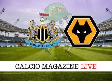 Newcastle Wolverhampton cronaca diretta live risultato in tempo reale