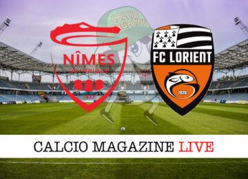 Nimes Lorient cronaca diretta live risultato in tempo reale