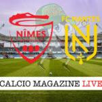Nimes Nantes cronaca diretta live risultato in tempo reale