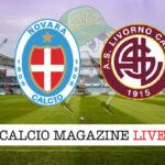 Novara Livorno cronaca diretta live risultato in tempo reale