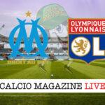 Olympique Marsiglia Lione cronaca diretta live risultato in tempo reale