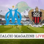 Olympique Marsiglia Nizza cronaca diretta live risultato in tempo reale