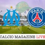 Olympique Marsiglia PSG cronaca diretta live risultato in tempo reale