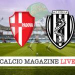 Padova Cesena cronaca diretta live risultato in tempo reale
