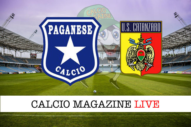 Paganese Catanzaro cronaca diretta live risultato in tempo reale