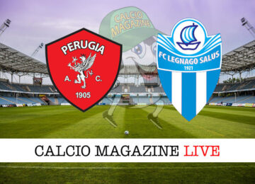 Perugia Legnago Salus cronaca diretta live risultato in tempo reale