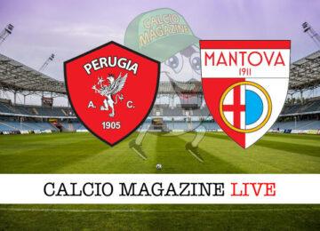 Perugia Mantova cronaca diretta live risultato in tempo reale