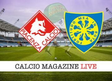 Piacenza Carrarese cronaca diretta live risultato in tempo reale