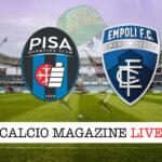 Pisa Empoli cronaca diretta live risultato in tempo reale