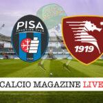 Pisa Salernitana cronaca diretta live risultato in tempo reale
