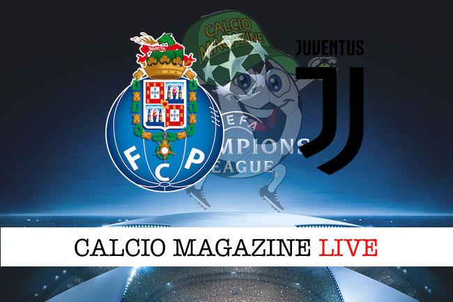 Porto Juventus cronaca diretta live risultato in tempo reale