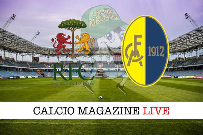 Ravenna Modena cronaca diretta live risultato in tempo reale