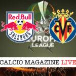RB Salzburg Villarreal cronaca diretta live risultato in tempo reale