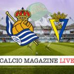 Real Sociedad Cadice cronaca diretta live risultato in tempo reale