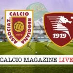 Reggiana Salernitana cronaca diretta live risultato in tempo reale