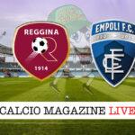 Reggina Empoli cronaca diretta live risultato in tempo reale