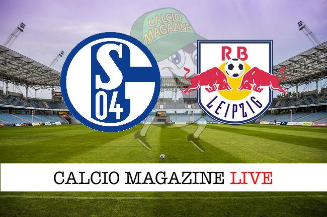 Schalke 04 RB Lipsia cronaca diretta live risultato in tempo reale