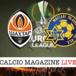 Shakhtar Donetsk Maccabi Tel Aviv cronaca diretta live risultato in tempo reale