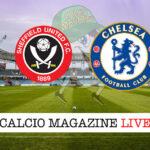 Sheffield United Chelsea cronaca diretta live risultato in tempo reale