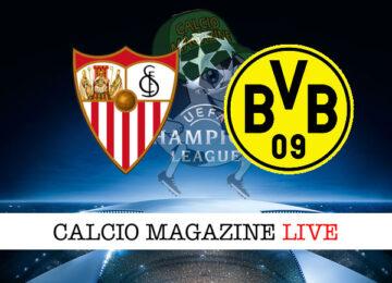 Siviglia Borussia Dortmund cronaca diretta live risultato in tempo reale