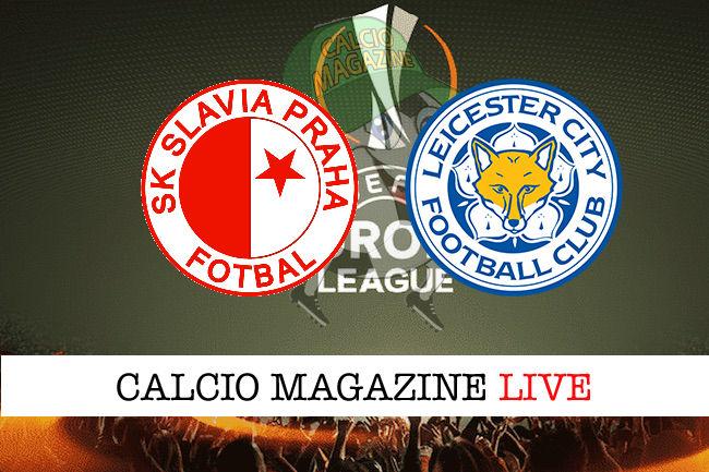 Slavia Praga Leicester City cronaca diretta live risultato in tempo reale