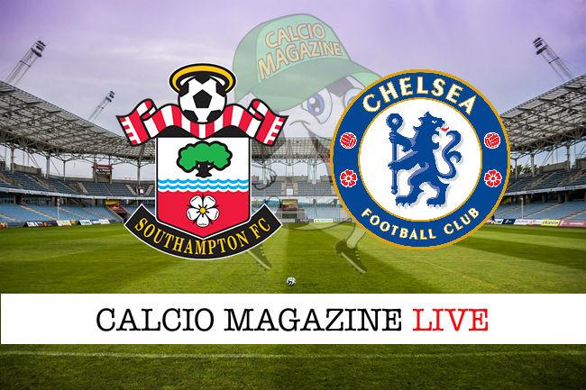 Southampton Chelsea cronaca diretta live risultato in tempo reale