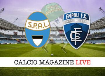 SPAL Empoli cronaca diretta live risultato in tempo reale
