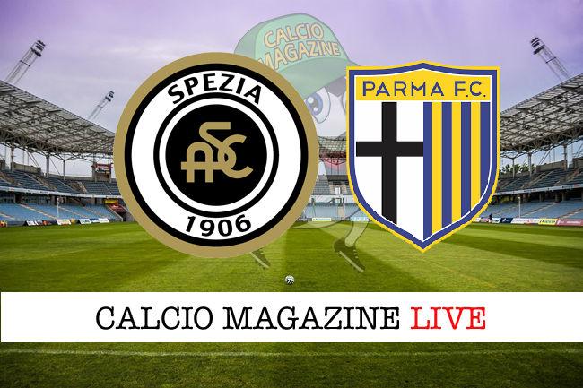 Spezia Parma cronaca diretta live risultato in tempo reale
