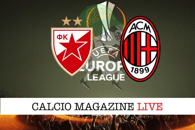 Stella Rossa Milan cronaca diretta live risultato in tempo reale