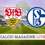 Stoccarda Schalke 04 cronaca diretta live risultato in tempo reale