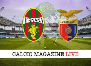 Ternana Casertana cronaca diretta live risultato in tempo reale