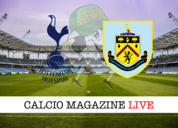 Tottenham Burnley cronaca diretta live risultato in tempo reale