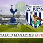 Tottenham West Bromwich cronaca diretta live risultato in tempo reale