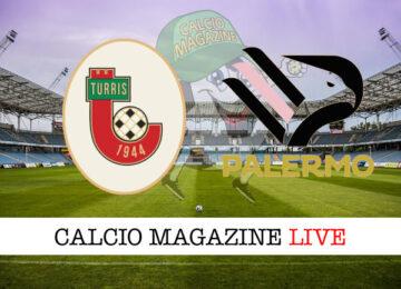Turris Palermo cronaca diretta live risultato in tempo reale