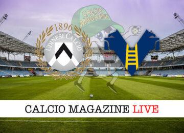Udinese Hellas Verona cronaca diretta live risultato in tempo reale