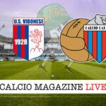 Vibonese Catania cronaca diretta live risultato in tempo reale