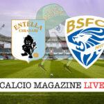 Virtus Entella Brescia cronaca diretta live risultato in tempo reale