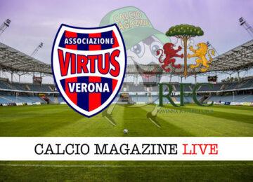 Virtus Verona Ravenna cronaca diretta live risultato in tempo reale