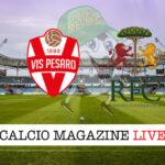 Vis Pesaro Ravenna cronaca diretta live risultato in tempo reale