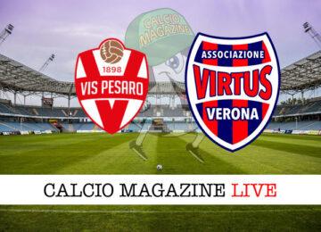 Vis Pesaro Virtus Verona cronaca diretta live risultato in tempo reale