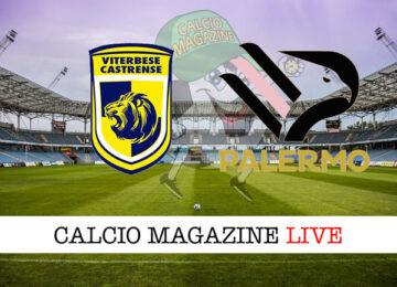 Viterbese Palermo cronaca diretta live risultato in tempo reale