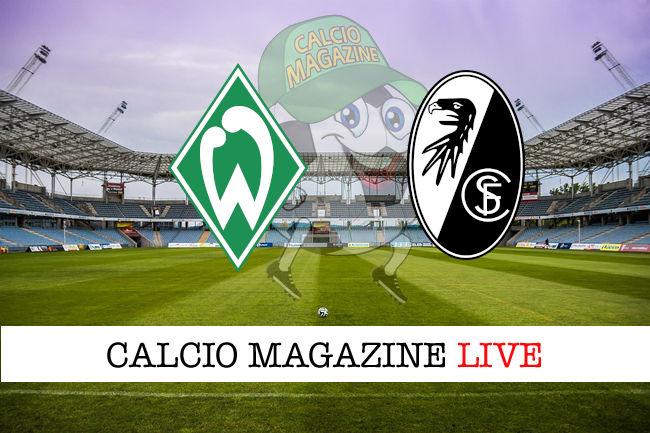 Werder Brema Fribugo cronaca diretta live risultato in tempo reale