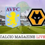 Aston Villa Wolverhampton cronaca diretta risultato in tempo reale