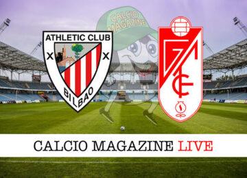 Athletic Bilbao Granada cronaca diretta risultato in tempo reale