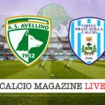 Avellino - Virtus Francavilla cronaca diretta live risultato in tempo reale