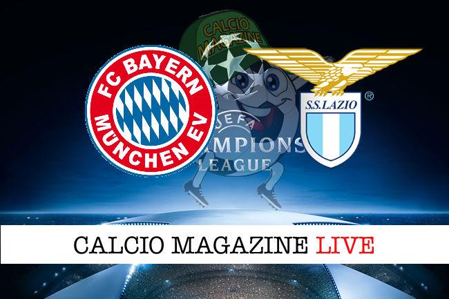 Bayern Monaco Lazio cronaca diretta live risultato in tempo reale